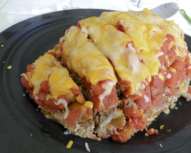 mexican meatloaf – Low fat, Low calorie, High Protein, Low carb!