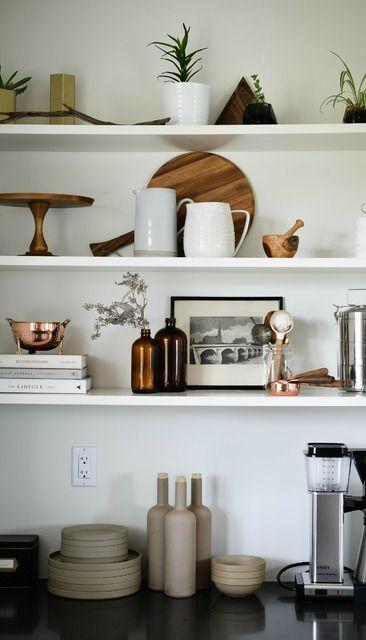 637 best the signature kitchen images on pinterest on kitchen decor open shelves id=59543