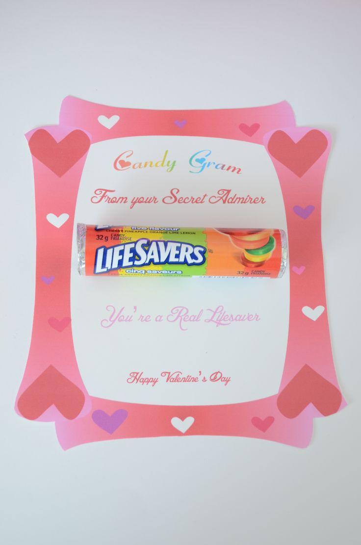 Valentines Day Candy Gram Ideas