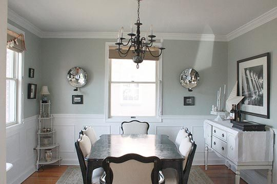 Light French Grey Dining Room Sherwin Williams Paint
