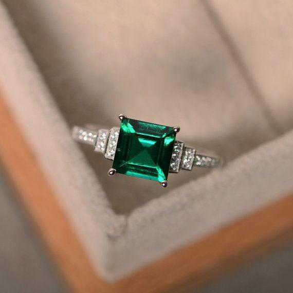 Best 25 Emerald Rings Ideas Only On Pinterest Emerald