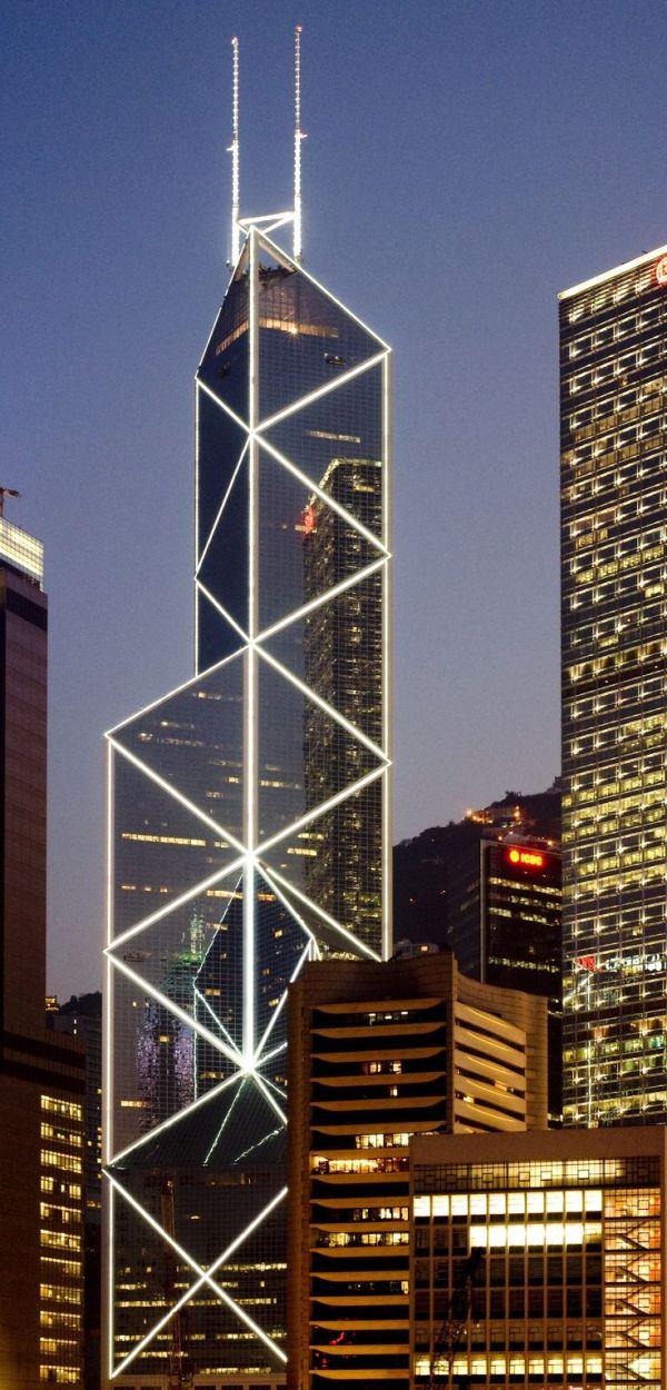 Bank of China Tower, Hong Kong by I.M. Pei & Partnersand ...