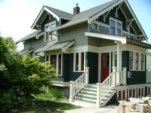 74 best images about exterior craftsman arts crafts on exterior house paint colors schemes id=55804