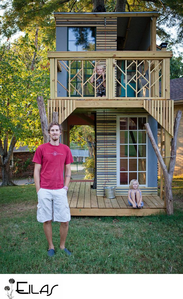 Darling….treehouse, step by step