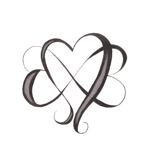 infinity heart tattoo – Google Search