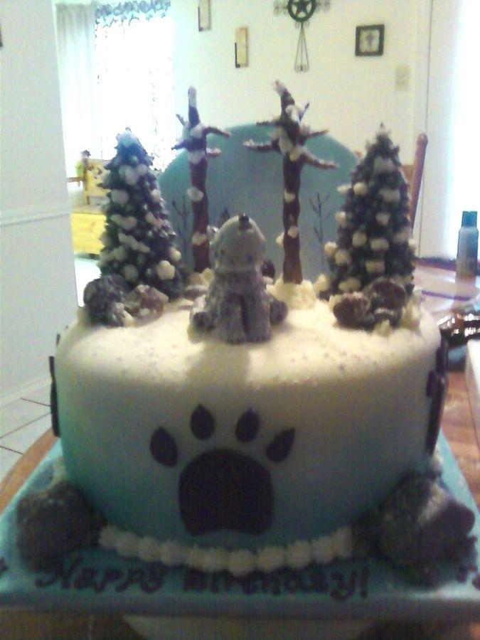 Wolf Cake Childrens Birthday Cakes Cakes Pinterest