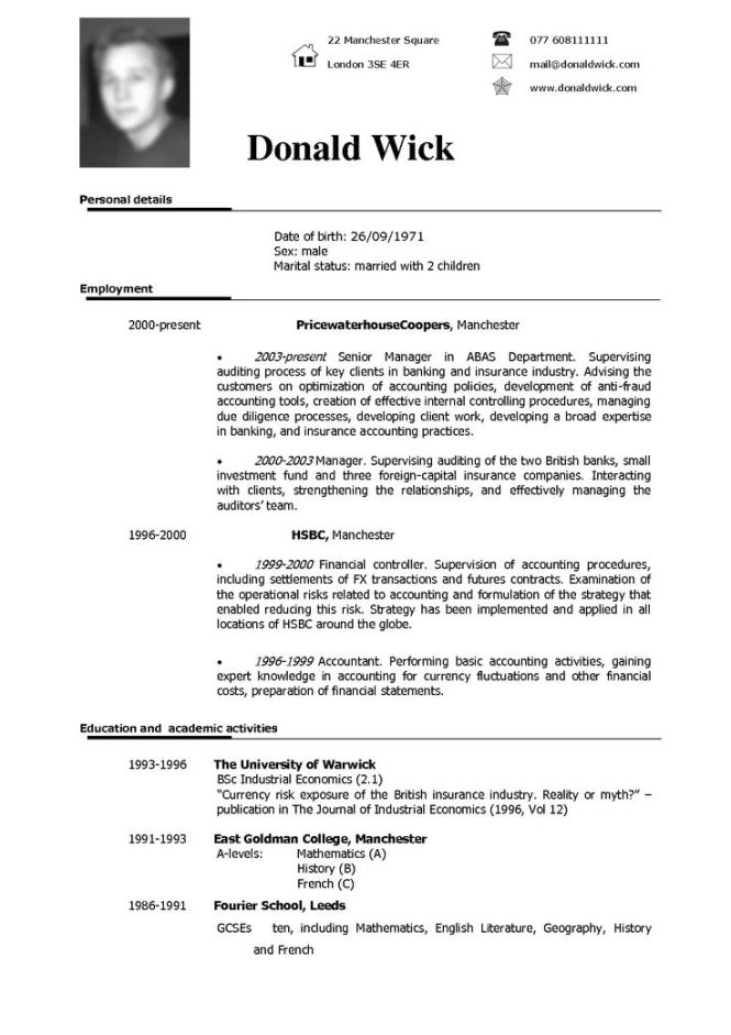 bsc resume format 100 for experienced sample