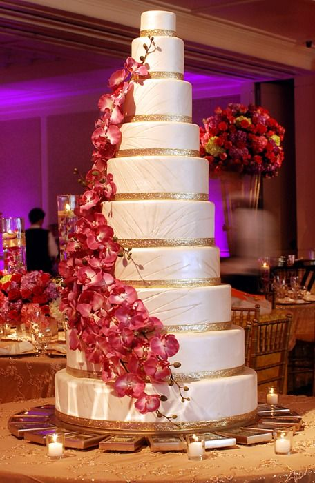 71 Best Images About Tall Wedding Cakes On Pinterest
