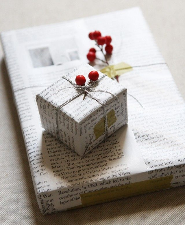 regalo papel de diario