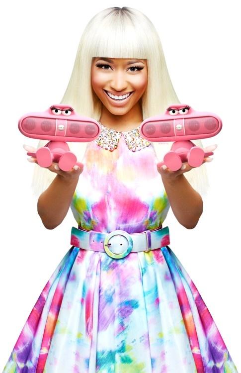 Nicki Minaj beats by Dre | Beats Headphones | Pinterest ...