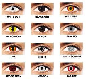 Halloween Contacts Halloween And Awesome On Pinterest