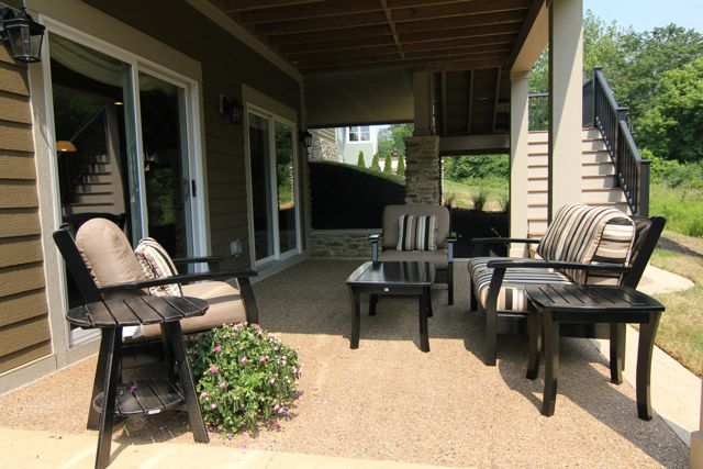 82 best images about Walk out basement ideas on Pinterest ... on Walkout Patio Ideas id=41869