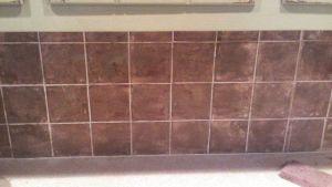 How To Sponge Paint A Tile Backsplash Paint Tiles, Tile
