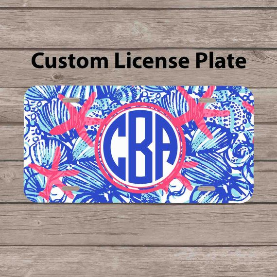 1000+ ideas about Monogram License Plate on Pinterest ...