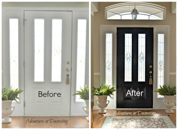 what color to paint interior doors   My Web Value our front door