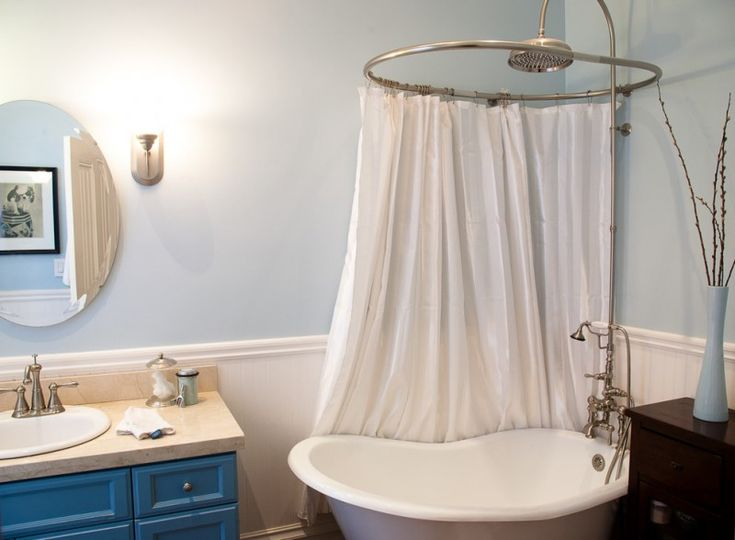 17 Best Ideas About Clawfoot Tub Shower On Pinterest