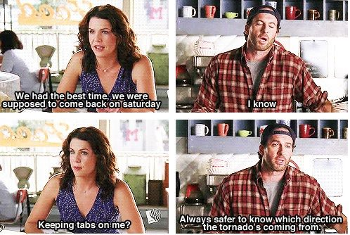 Image result for luke and lorelai quote