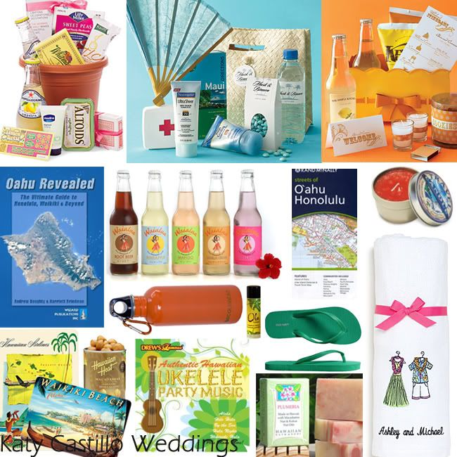 Love the idea of a Welcome Bag for guests which includes tourist information and