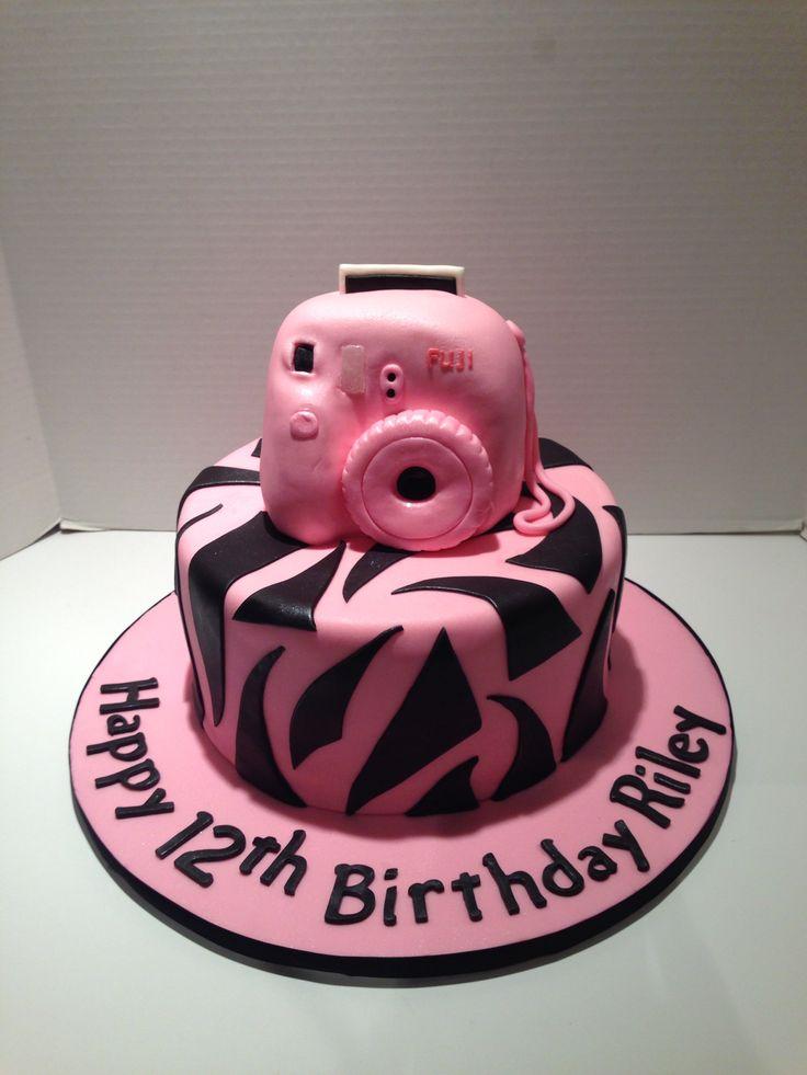 Fuji Instax Mini Camera Cake Cakes Pinterest Instax