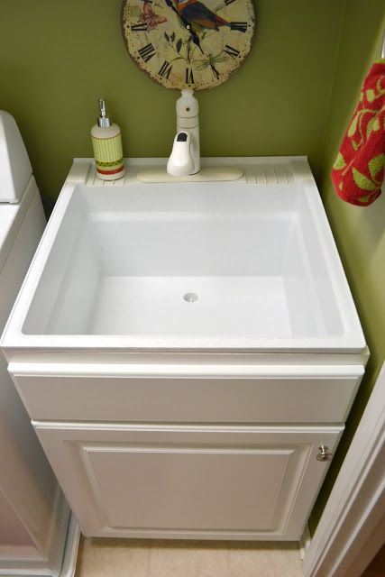 Do this to utility sink…yes.  Outside dimensions are 24″ wide x 24.75″ deep.– Inside dimensions are: 21.5″ wide x 19.5″