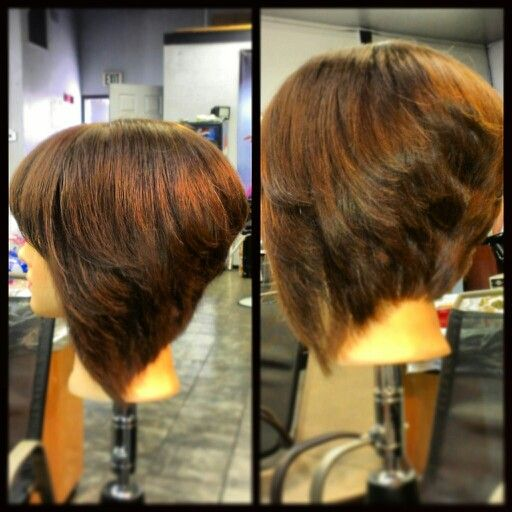 Short Stacked Bob With Layers Beginner Licenced