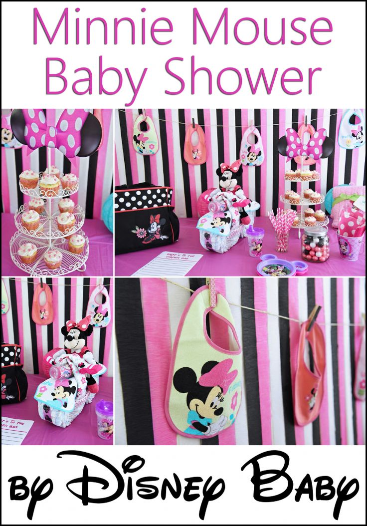 Minnie Mouse Baby Shower By Disney Baby Minnie Mouse
