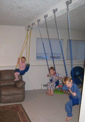 Indoor Swing Set… this is