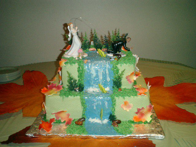 Fishing Wedding Cake Wedding Pinterest Wedding