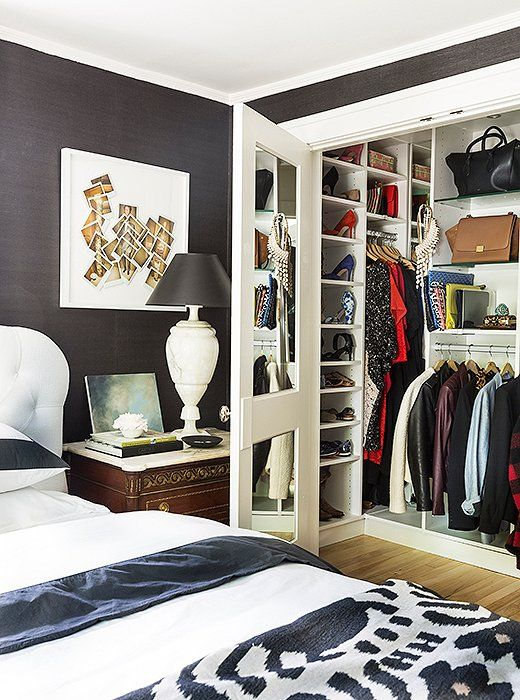 Mirrors On Closet Doors I Added A Really Master By Stealing The From Room Next To It She Says Had California Closets Come And