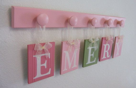Personalized Baby Gifts, Nursery Decorations Wooden