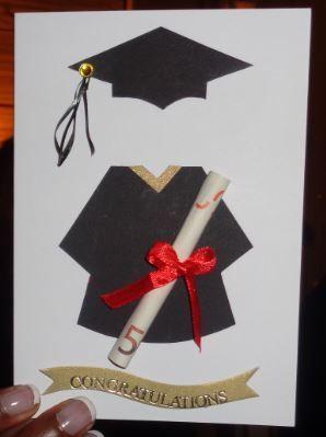 Graduation Money Gift Card Sponsion Karte Geld Gutschein