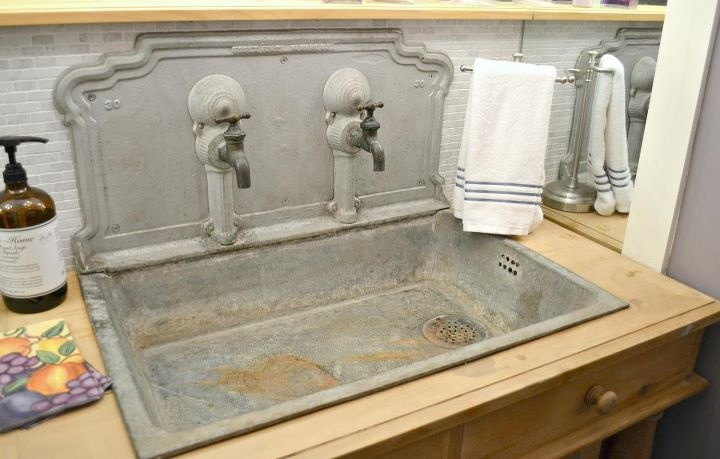 seriously cool zinc sink kitchens of drool pinterest sinks on zink outdoor kitchen id=33669