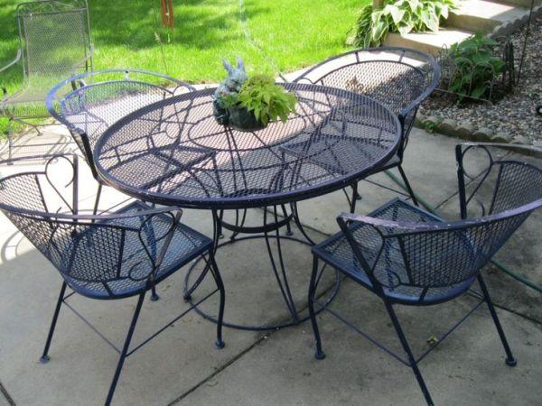 wrought iron patio furniture 1000+ ideas about Iron Patio Furniture on Pinterest