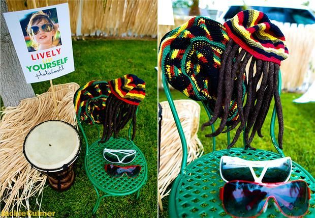 Reggae Theme Decorations Hostess With The Mostess