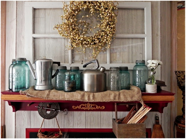 Country Decorating Ideas.
