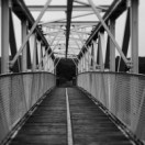 Image result for crossing a footbridge