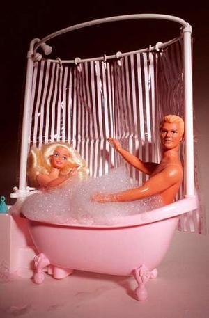 SEXY BARBIE Amp KEN BUBBLE BATH Bad Barbie Pinterest