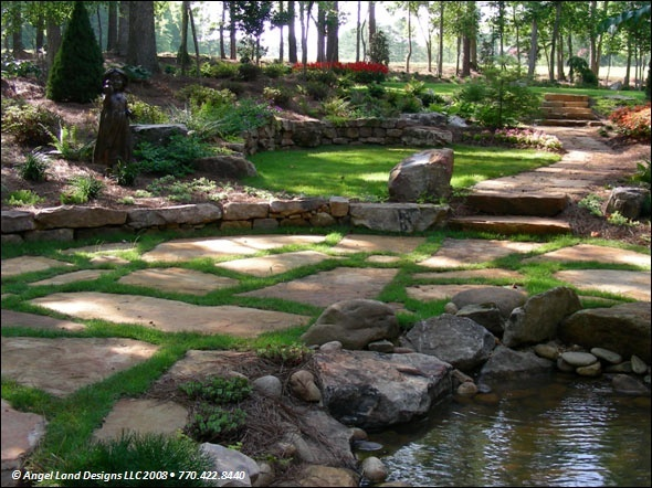 48 best images about Creek landscaping ideas on Pinterest ... on Backyard Stream Ideas id=37847