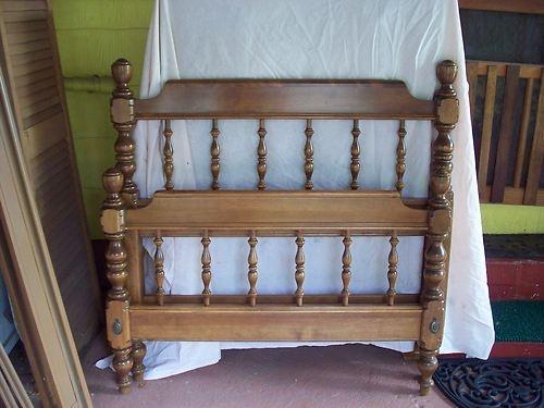Ethan Allen Heirloom Furniture Twin Bed Set Complete 7 Pieces Vintage Ebay Love
