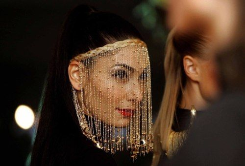 Gorgeous Beaded Face Veil Moroccan Delights Pinterest