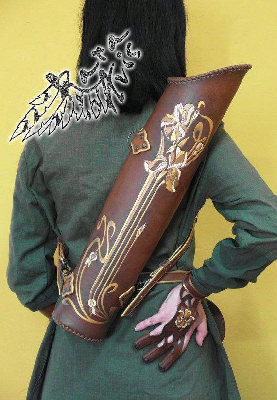 Traditional Archery Leather Arm Guard