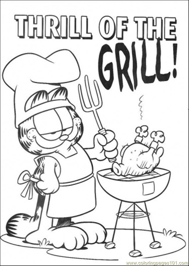 17 best images about garfield on pinterest  coloring