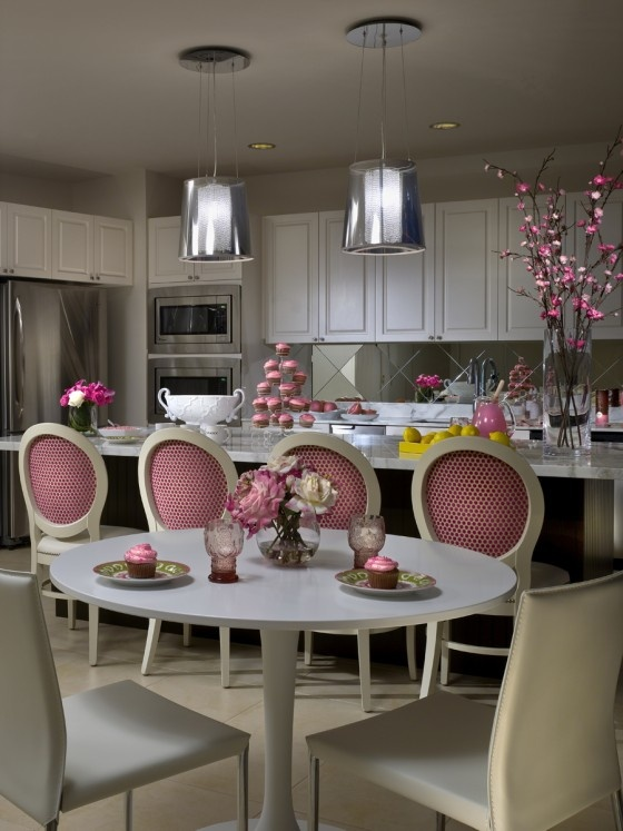 135 best images about pink home decor on pinterest on kitchen decor pink id=28607