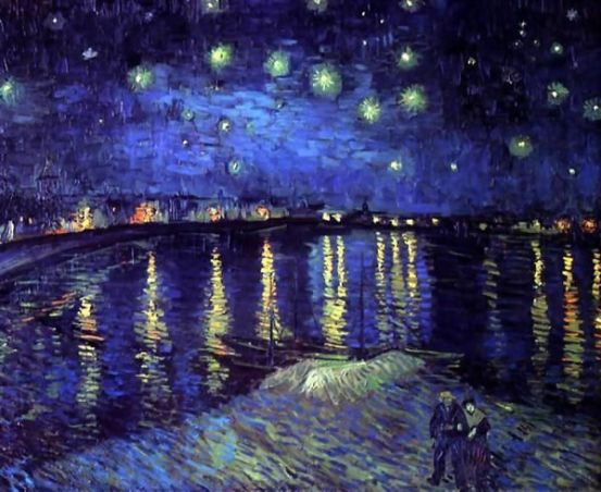 Impressionism by Vincent Van Gogh. Van Gogh paintings are studies in color. Be inspired by his art to help you understand how to put a paint color scheme together.: