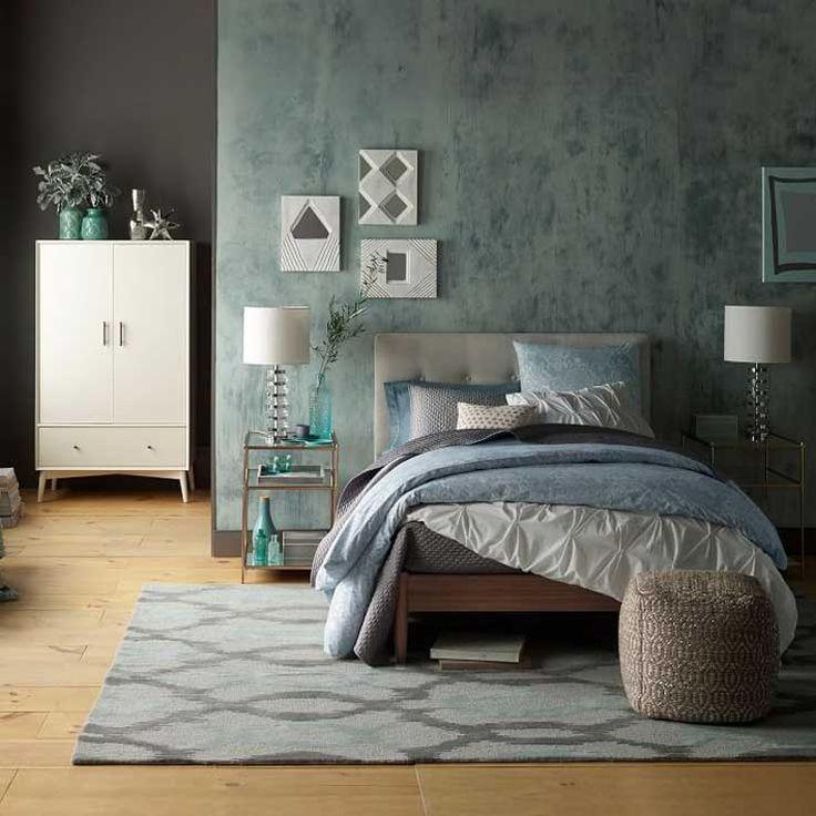 9 Inspiring Blue Rooms West Elm Master Bedroom Pinterest Blue Rooms