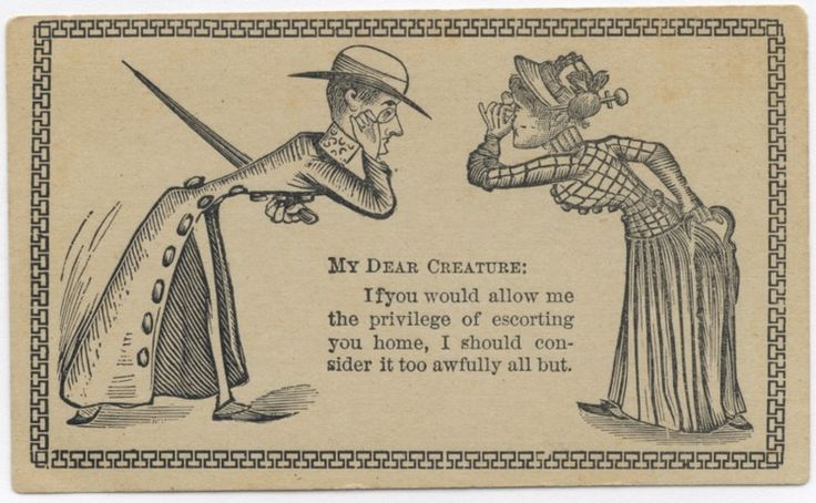 These 19th Century Invitation Cards Are The Old School