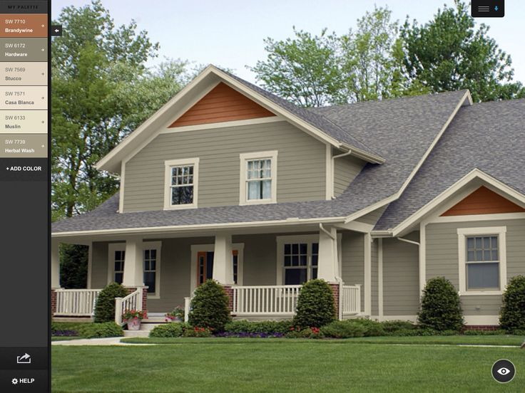 44 best images about home exteriors on pinterest on exterior house paint colors schemes id=93952