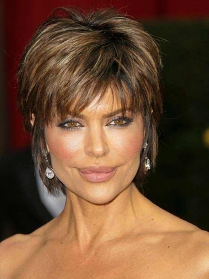 Short Hairstyles For Older Women Textured Hairstyles And