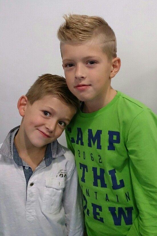 Hair Salon Shop Spakenburg Stoere Jongens Kapsels Kids