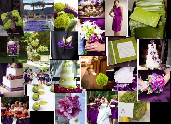 22 Best Images About Eggplant & Olive Wedding Decor On